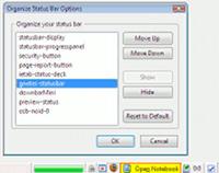 Скриншот Organize Status Bar