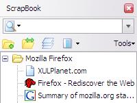 Скриншот ScrapBook