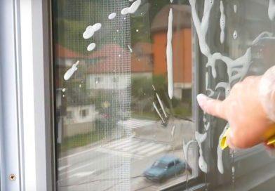Как мыть пластиковые окна без разводов снаружи и внутри
