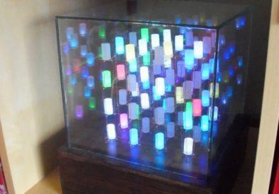 4x4x4 светодиодный куб и его схема