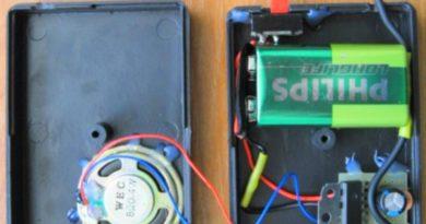 Мини-динамик для mp3-плеера или телефона (самодельный)