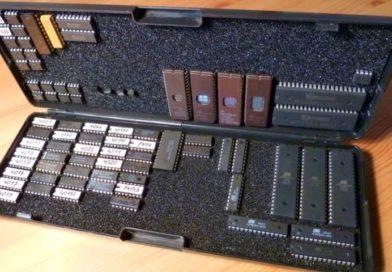 Самодельная коробочка для хранения микросхем