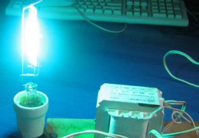УФ лампа из ртутной + схема подключения