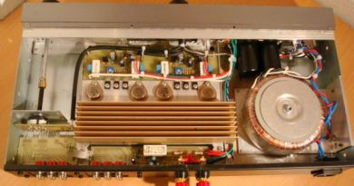 Схема классического ретро-усилителя на транзисторах